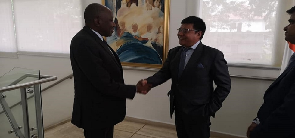 Ambassador with Prime Minister Mr. Amadou Gon Coulibaly
