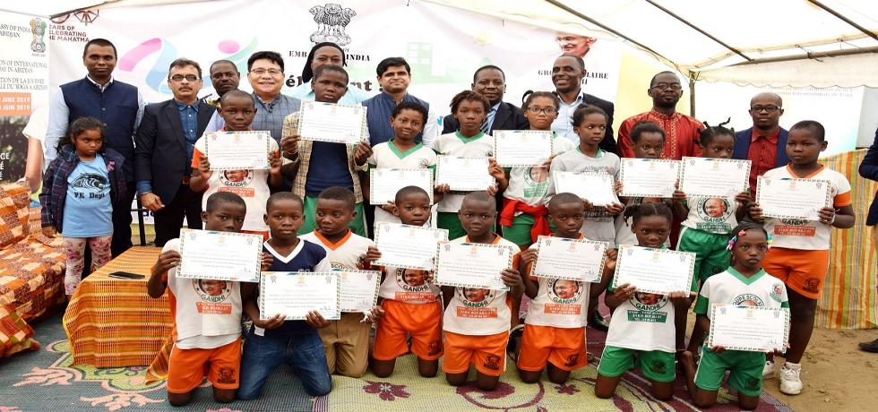 Winners of Drawing competition for the Celebration of World Environmenet Day 2019
