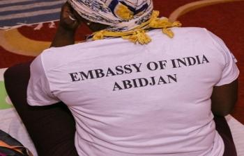 Celebration of 5th International Day of Yoga in Abidjan