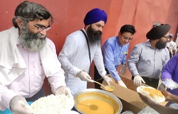Commemoration of 550th Birth Anniversary of Guru Nanak Dev Ji in Liberia