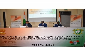The 3rd India-Cote d'Ivoire Business Forum: Business Connect