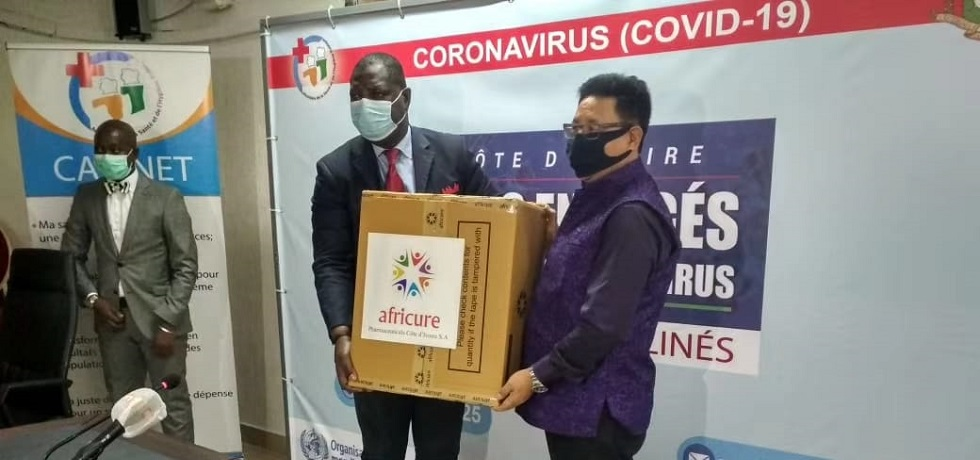 Gifting of Covid-19 Test Kits to Ministry of Health from Indian Company-Africure