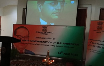 Commemoration of 130th Birth Anniversary of Dr B.R. Ambedkar