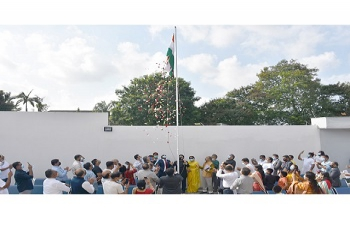 Celebration of the 75th Independence Day of India in Abidjan